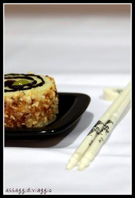 Cotton sushi cheesecake